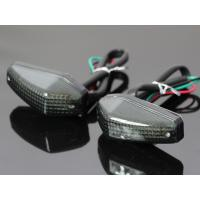 LED カウルウインカー 2個セット  スタイルを選ばないシンプルなダイアモンド型のウインカーです。...