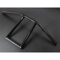 チョッパー・フリスコスタイルによく似合うアタックバー スチール製ブラック仕上げ。仕上げもとてもキレイ...