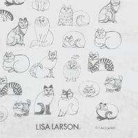 デコパージュ、デコナップなどのハンドメイド素材や食卓の演出に♪  リサラーソン LISA LARSO...