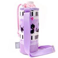 水筒やステンレスボトルも入る水筒ケースとして使える、便利な子ども用ペットボトルケースです。保温、保冷...