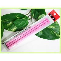 2B鉛筆3本セット ピンク