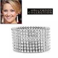 ダイヤモンド シルバービーズブレスレットはダイヤモンドCZの華麗さとメタルのシャープさが都会的エッジ...
