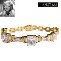 「スゥイートセンセーション」という名を持つこのダイヤモンド18金ブレスレットはオールドハリウッドスタ...