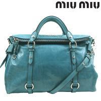 miumiu/ミュウミュウの[VITELLO LUX(ヴィッテロ ルクス)]シリーズのハンドバッグ/...