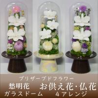 黄色デンファレ 淡い黄色のデンファレ2輪と白い菊が爽やかで明るいお供え花です。 白デンファレ 白色の...