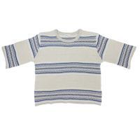 綿混の春夏向けの薄手のセーターです。 強撚糸使用しハリとシャリ感のきいた風合いです。 軽くて快適な着...