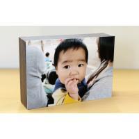 shacolla シャコラ BOXタイプ ブラウン Lサイズ用 プリント対応サイズ 89×127ミリ...