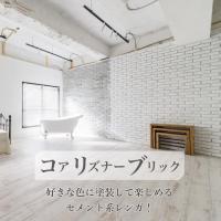 【コアリズナーブリック ケース売り】  DIY・リノベーションに最適な壁用レンガタイル。 玄関・リビ...