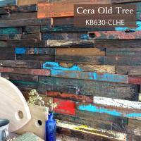 <セラオールドトゥリー KB630R-CLHE>  DIY・リノベーションの壁材として最適な古木ユニ...