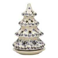 モミの木型のキャンドルホルダーです。クリスマスシーズンにピッタリです。 絵柄は、ポーランド語で日本(...