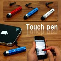 ●イヤホンジャックに 取付けできるタッチペン!! (3.5φイヤホンジャック対応)  ●画面を指紋な...