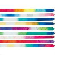 ●色鮮やかなグラデーションカラーで、躍動感のある演技を引き立たせるリボン。 ●しなやかで美しい軌跡を...