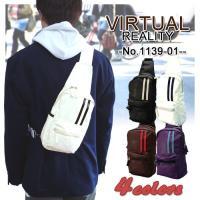 【VIRTUAL REALITY】スポーティワンショルダー ボディバッグ【1139-01】 自転車で...