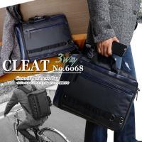 【CLEAT】3WAY  リュック機能付き  PCポケット付き  多機能 ビジネスバッグ【6068】...