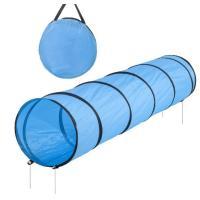 競技用 アジリティ用品 ホット販売 長さ200cm 幅43cm ペットトンネル ペット 犬 アジリティ 服従訓練 トンネル 青色