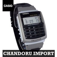 CASIO カリキュレーター デジタル腕時計 カシオ CA-56-1 データバンク デジタル ブラッ...