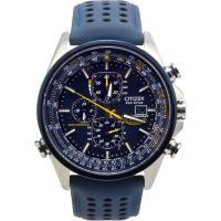 電波 ソーラー シチズン 腕時計 エコドライブ ブルー エンジェルス クロノグラフ CITIZEN ...