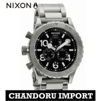 ニクソン NIXON 腕時計 メンズ THE 51-30 A037-000 オールブラック クロノグ...