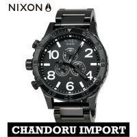 ニクソン NIXON 腕時計 メンズ THE 51-30 A083-001 オールブラック クロノグ...
