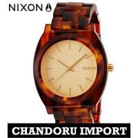 ニクソン NIXON 腕時計 メンズ A327-1424 A327 べっ甲 TIME TELLER ...
