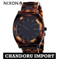 ニクソン NIXON 腕時計 メンズ A327-646 A327 べっ甲 TIME TELLER A...
