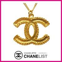 シャネル CHANEL ネックレス 2WAY アクセサリー ゴールド マット CC ロゴ ココマーク...