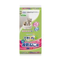 デオトイレ 複数ねこ用 消臭・抗菌シート お徳用8枚入り 猫 ペットシーツ
