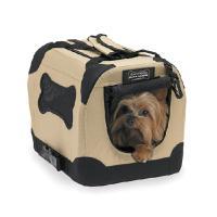 メーカー:スペクトラムジャパン 旅行時に活躍、持ち運べるケージ!小型犬、猫向けのポータブルクレートで...