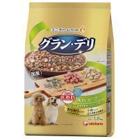 グラン・デリ カリカリ仕立て 成犬用 低脂肪 味わいビーフ入りセレクト ~脂肪分約25%カット~ 1.6kg(400g×4袋)