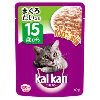 メーカー:マース 品番:KWP54 15歳からおいしく健康サポート 15歳以上の猫に必要な全ての栄養...