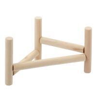 三晃商会 SANKO 小鳥のホップ ステップ パーチ 小鳥用 木製 スタンドパーチ 止まり木 関東当日便