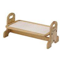 メーカー:ドギーマン 素朴で温かい木製の食器台 食べやすい姿勢で食事をもっと快適に!高さ調節が出来る...