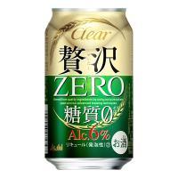 アサヒ クリアアサヒ 贅沢ゼロ 350ml×24本  『クリアアサヒ 糖質0』と比較して麦の使用量を...