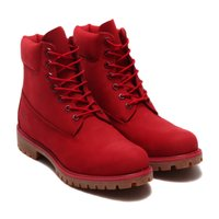 "お取り寄せ商品 Timberland ICON 6"" PREMIUM BOOT  ■カラー:RED ..."