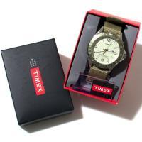 TIMEX タイメックス 時計 カレイドスコープ オリーブナイロン 42mm ミリタリー メンズ ダ...
