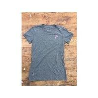 PINARELLO 【PlogoGRY/S】Tシャツ レディースPina ピンクロゴ グレー(GRE...