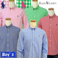 POLO by Ralph Lauren Boy'sギンガムチェック 長袖シャツ[2014-Spring/NewColor][ラルフローレン ボーイズ]#323196829