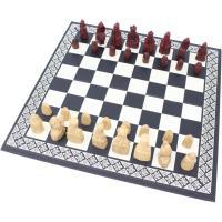 【チェス盤】 ・サイズ:28×28cm  【チェス駒】 ・高さ:2.3cm〜4cm  ・セット重量:...