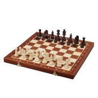 【チェス盤】 ・サイズ:48.5x48x3cm ・1マス:5cm ・材質:木製(ブナ材/カンバ材/マ...