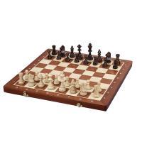 【チェス盤】 ・サイズ:53x52x3cm ・1マス:5.5cm ・材質:木製(ブナ材/カンバ材/マ...