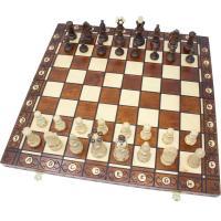 【チェス盤】 ・サイズ:47x47x2.7cm ・1マス:5cm ・素材:ブナ材/カンバ材  【チェ...