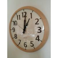 商品名:ハンドメイドモダンウッド 電波時計 壁掛け時計 カラー:natual SIZE : 横30c...