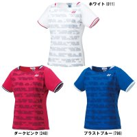 ヨネックス シャツ 20383バドミントン テニス ウエアユニフォーム ゲームシャツ 半袖レディース...