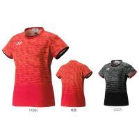 ヨネックスフィットシャツ 20386バドミントン ウエア 半袖 ユニフォーム 日本代表モデルレディー...