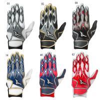 ミズノ バッティング用手袋(両手)1EJAEA140  野球 ベースボール バッティンググローブ 19SS