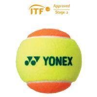 ヨネックス マッスルパワーボール30 1ダース12個入りTMP30 テニス ボール 硬式 ジュニア ...
