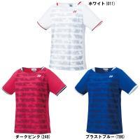 ヨネックスシャツ 20384バドミントン テニス ウエアユニフォーム ゲームシャツ 半袖レディース ...