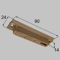 MDQ738 送料込み LIXIL リクシル トステム 室内引戸 ブレーキ部品 枠側ブレーキ部品 MDQ738
