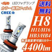 ■■  ■最新CREEチップを搭載した爆光フォグランプ 実測値片側1500lmもの光量でファンレスL...