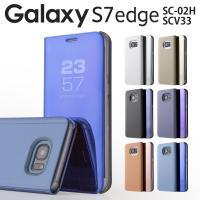 商品名称 Galaxy S7 edge SC-02H / SCV33 半透明手帳型ケース     適...